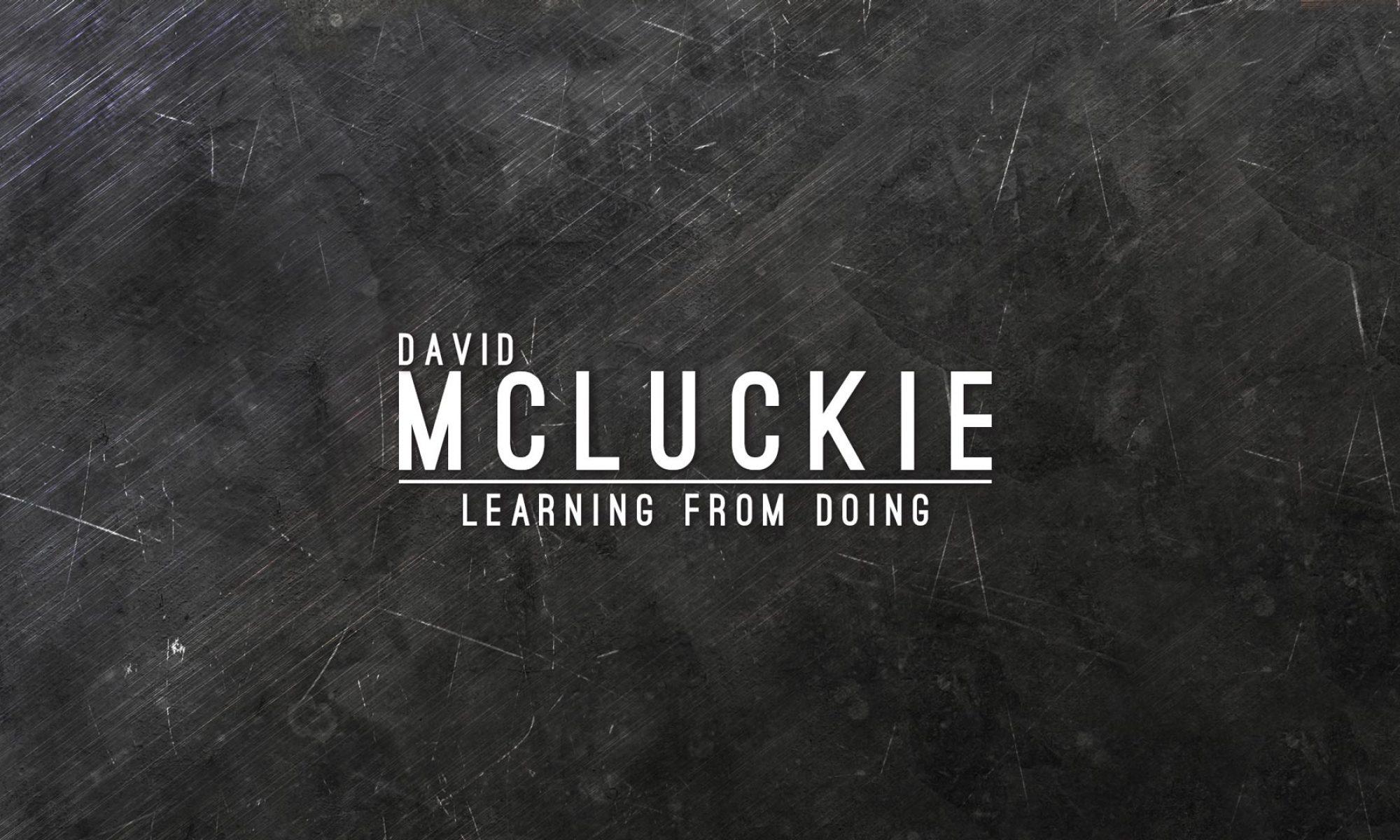 David McLuckie